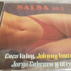 CDs de Música: SALSA / VOL. 2 / VARIOS ARTISTAS / CD - PERFIL / 12 TEMAS / PRECINTADO.. Lote 134935858