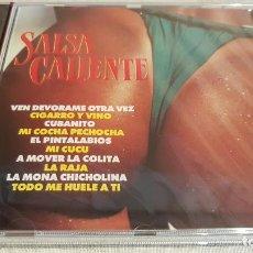 CDs de Música: SALSA CALIENTE / VARIOS ARTISTAS / CD - PERFIL / 10 TEMAS / PRECINTADO.. Lote 134936158