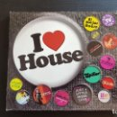 CDs de Música: I LOVE HOUSE - DOBLE CD ALBUM - BLANCO Y NEGRO - 2005. Lote 134942750
