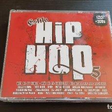 CDs de Música: ESTILO HIP HOP 5 - DOBLE CD + DVD - DIVUCSA - 2006. Lote 134944118