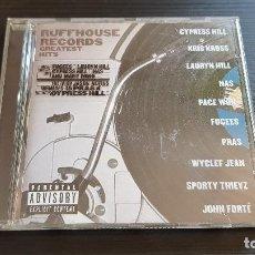 CDs de Música: RUFFHOUSE RECORDS - GREATEST HITS - CD ALBUM - COLUMBIA - 1999. Lote 134950818