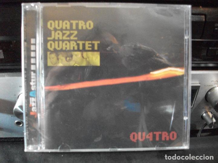 QUATRO JAZZ QUARTERT QU4TRO CD ALBUM PRECINTADO JAZZ ASTUR 2002 ASTURIAS GP PEPETO (Música - CD's Jazz, Blues, Soul y Gospel)