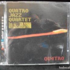 CDs de Música: QUATRO JAZZ QUARTERT QU4TRO CD ALBUM PRECINTADO JAZZ ASTUR 2002 ASTURIAS GP PEPETO. Lote 134957210