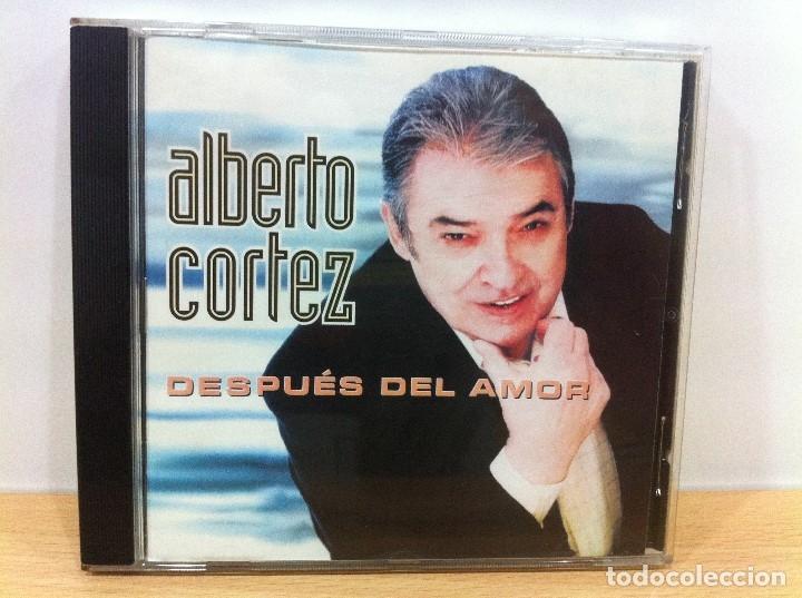 CD DE ALBERTO CORTEZ - DESPUÉS DEL AMOR. DISCOS PITOKES, 2002 (Música - CD's Melódica )