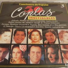 CDs de Música: CANCIONERO DE ESPAÑA / 50 COPLAS INOLVIDABLES / VOL. 3 / CD - DIVUCSA / 18 TEMAS / PRECINTADO.. Lote 134999474