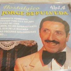 CDs de Música: JORGE SEPULVEDA / NOSTÁLGICO / VOL. 4 / CD - PERFIL / 15 TEMAS / PRECINTADO.. Lote 135002146