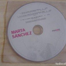 CDs de Música: MARTA SÁNCHEZ - NO TE QUIERO MÁS (REMIXES) - CD SINGLE PROMO - 2002 MUXXIC. Lote 135016842