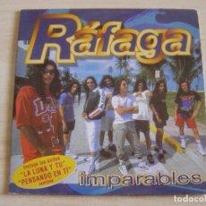 CDs de Música: RAFAGA - IMPARABLES - CD MAXI- SINGLE PROMOCIONAL 2000 MERCURY. Lote 135030614