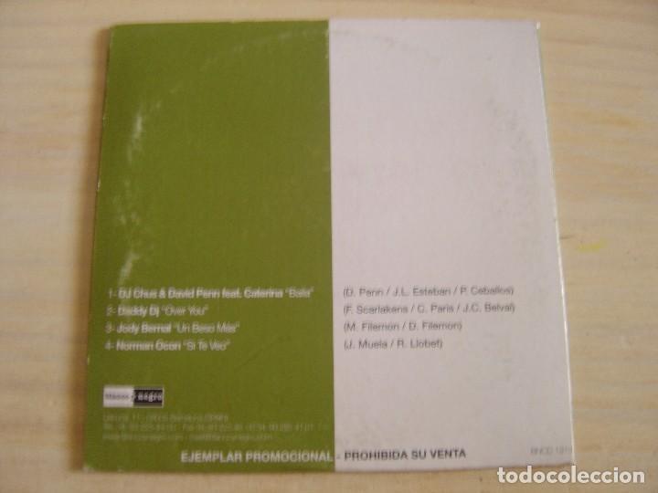 CDs de Música: Promo Objetivos 2002 - CD PROMO - EXITOS DEL PROGRAMA CONFIANZA CIEGA - Blanco Y Negro - Foto 2 - 135032946