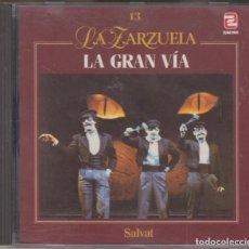 CDs de Música: LA GRAN VÍA CD LA ZARZUELA 1990 ZAFIRO. Lote 135063266