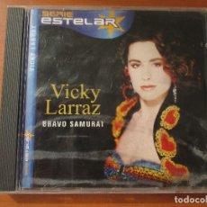 CDs de Música: VICKY LARRAZ BRAVO SAMURAI SERIE ESTELAR. Lote 135072846