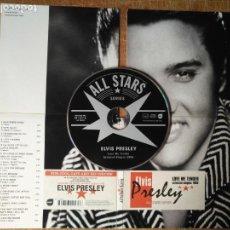 CDs de Música: CD ELVIS PRESLEY ALL STARS SERIES , LOVE ME TENDER SELECTED SINGLES 1956 - 16 EXITOS . VER FOTOS . Lote 135093226