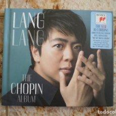 CDs de Música: LIBRO DOBLE CD. LANG LANG. THE CHOPIN ALBUM. . Lote 135098362