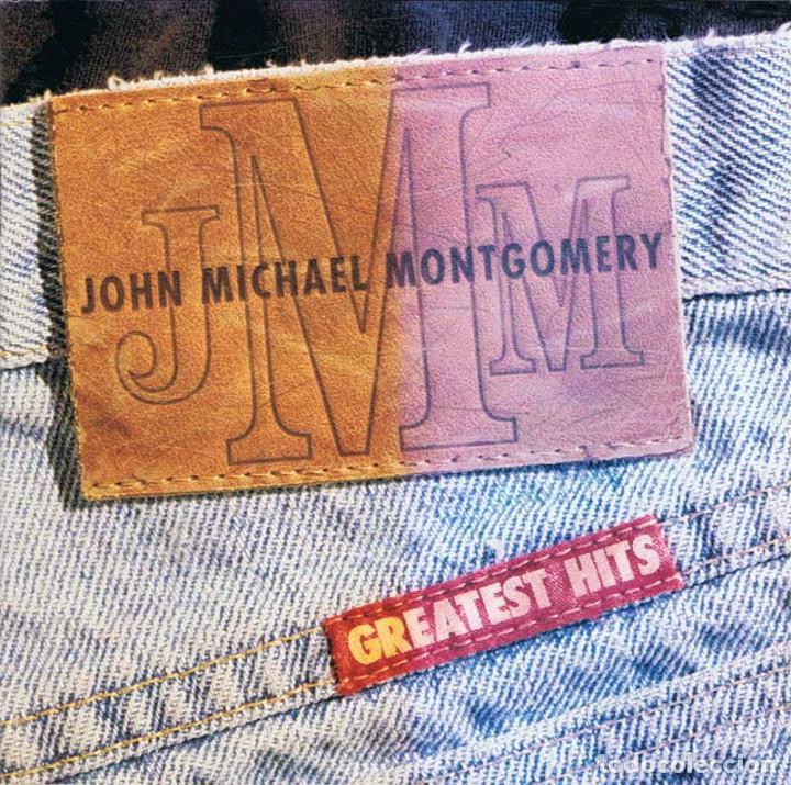 JOHN MICHAEL MONTGOMERY - GREATEST HITS. CD. ATLANTIC RECORDS (Música - CD's Country y Folk)