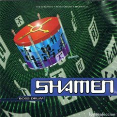 CDs de Música: THE SHAMEN - BOSS DRUM. CD. ONE LITTLE INDIAN RECORDS. Lote 135103994