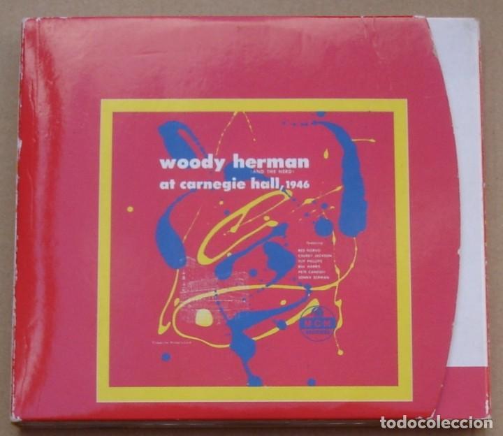WOODY HERMAN - AT CARNEGIE HALL, 1946 (2CD) 1999 - 23 TEMAS - DIGIPAK (Música - CD's Jazz, Blues, Soul y Gospel)