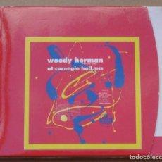 CDs de Música: WOODY HERMAN - AT CARNEGIE HALL, 1946 (2CD) 1999 - 23 TEMAS - DIGIPAK. Lote 135132074