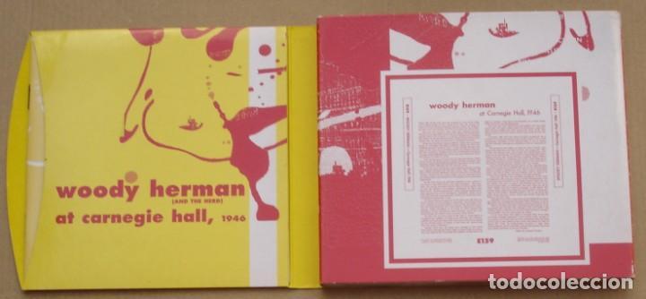 CDs de Música: WOODY HERMAN - AT CARNEGIE HALL, 1946 (2CD) 1999 - 23 TEMAS - DIGIPAK - Foto 2 - 135132074