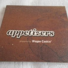 CDs de Música: WAGON COOKIN' APPETIZERS. Lote 135144018