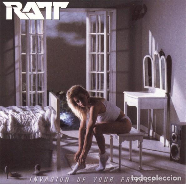 RATT – INVASION OF YOUR PRIVACY (US, SIN FECHA) (Música - CD's Heavy Metal)