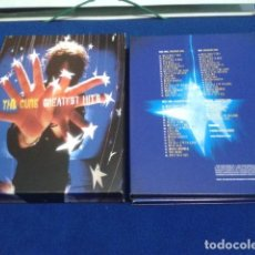 CDs de Música: CD THE CURE BOX ( GREATEST HITS 2 CD & DVD ) 2003 FICTION RECORDS. Lote 145052162