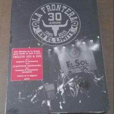 CDs de Música: LA FRONTERA 30 AÑOS EN EL LÍMITE 2CD + DVD CAJA NUEVA, DESCATALOGADA. Lote 135214670