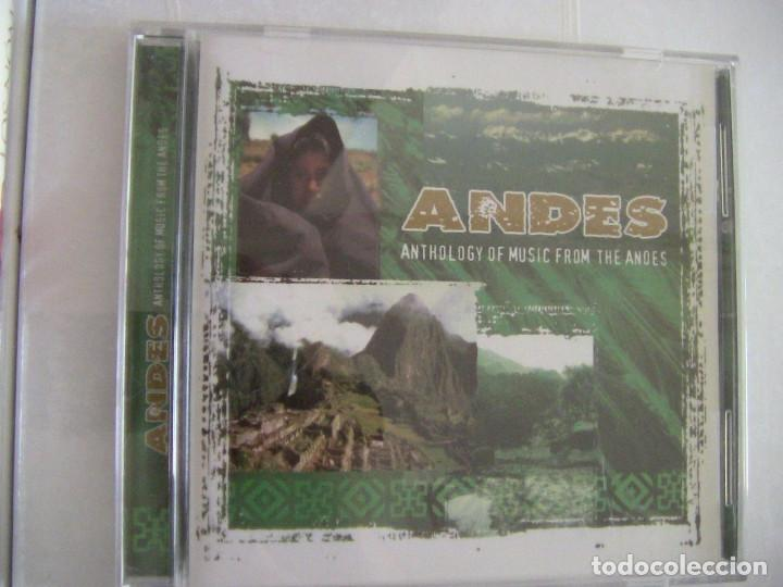 ANDES ANTHOLOGY OF MUSIC FROM THE ANDES (Música - CD's Melódica )