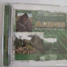 CDs de Música: ANDES ANTHOLOGY OF MUSIC FROM THE ANDES. Lote 135215894