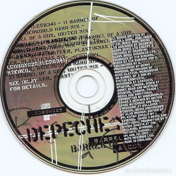 LIMITED Depeche Mode - Barrel Of A Gun 2 - CDSingle UK