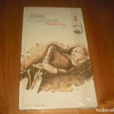 CDs de Música: JOHN COLTRANE - LIBRO Y 2 CD- COLECCION JAZZ CHARACTERS Nº 10. SIN ABRIR. Lote 135262102
