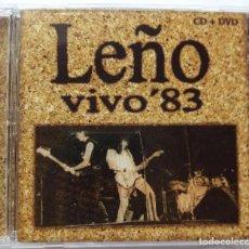 CDs de Música: LEÑO VIVO 83 CD + DVD. Lote 135269838