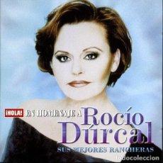 CDs de Música: ROCÍO DÚRCAL – ¡HOLA! EN HOMENAJE A ROCÍO DÚRCAL - SUS MEJORES RANCHERAS (ESPAÑA, 2006). Lote 135272118