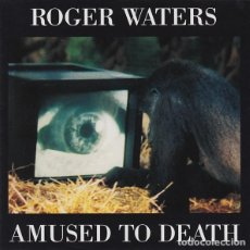 CDs de Música: ROGER WATERS – AMUSED TO DEATH (EU, 1992). Lote 135274142