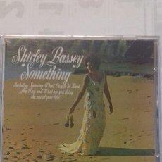 CDs de Música: SHIRLEY BASSEY. SOMETHING. Lote 135335199