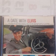 CDs de Música: ELVIS PRESLEY. A DATE WITH ELVIS. Lote 135346058