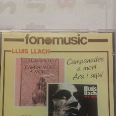 CDs de Música: LLUIS LLACH. CAMPANADES A MORT ARA I AQUÍ. Lote 135351261