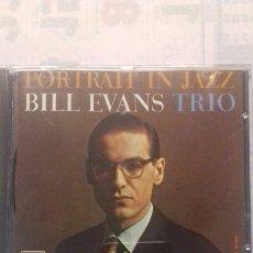 CDs de Música: BILL EVANS TRÍO. PORTRAIT IN JAZZ. Lote 135352299
