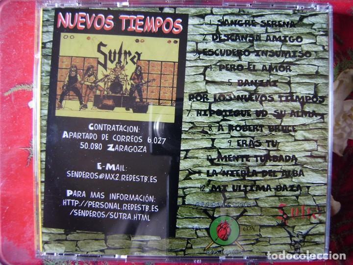 CDs de Música: SUTRA.NUEVOS TIEMPOS...METAL ARAGON...DIFICIL - Foto 2 - 135360602