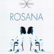 CDs de Música: ROSANA ?– LUNAS ROTAS (ESPAÑA, 1996). Lote 135360838