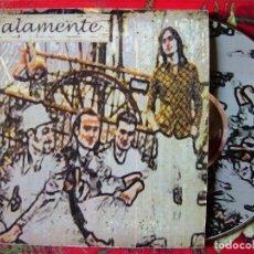 CDs de Música: MALAMENTE.PARA QUE + 3...MAXI 4 TEMAS MUY DIFICIL.(CON REGALO DE SU CD OFICIAL)..ROCK ARAGON. Lote 135361166