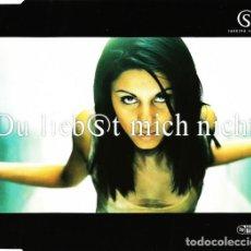 CDs de Música: SABRINA SETLUR – DU LIEBST MICH NICHT (GERMANY, 1997. CD, MAXI-SINGLE). Lote 135366978