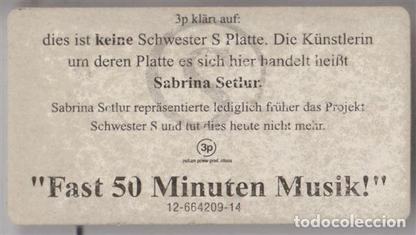 CDs de Música: Sabrina Setlur – Du Liebst Mich Nicht (Germany, 1997. CD, Maxi-Single) - Foto 5 - 135366978
