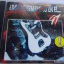 CDs de Música: DONDE ESTABAS TU EN EL 91 ?. Lote 135370106