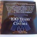 CDs de Música: 100 YEARS OF CINEMA -DEJAVU RETRO GOLD COLLECTION-. Lote 135370606