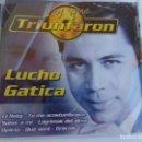 CDs de Música: LUCHO GATICA -LOS QUE TRIUNFARON- . Lote 135371014