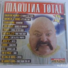 CDs de Música: MAQUINA TOTAL 10 MIXED BY MIKE PLATINAS- 2 CDS. Lote 135373050