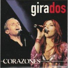 CDs de Música: MIGUEL BOSE Y ANA TORROJA - CORAZONES / GIRADOS SG PROMOCIONAL RARO WARNER 2000 MECANO. Lote 135404730