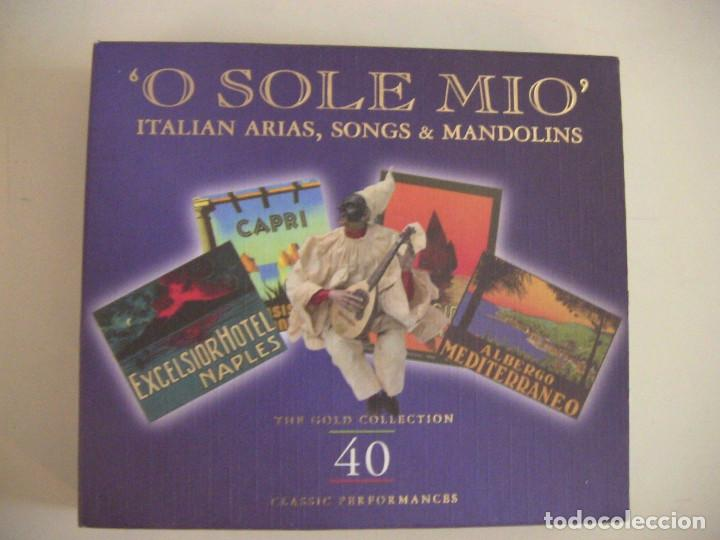 LUCIANO PAVAROTTI Y OTROS CD DOBLE MUSICA ITALIANA (Música - CD's Melódica )