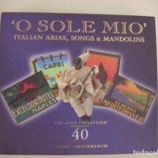 CDs de Música: LUCIANO PAVAROTTI Y OTROS CD DOBLE MUSICA ITALIANA. Lote 135407086