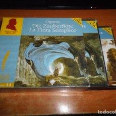 CDs de Música: OPERAS MOZART VOLUME 14 DIE ZAUBERFLÖTE / LA FINTA SEMPLICE CAJA 5 CD + 2 FOLLETOS BOX SET RARO. Lote 135432226